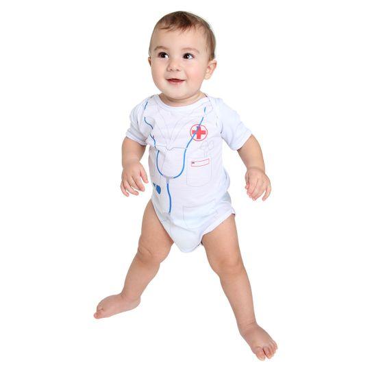 Fantasia Body Médico Bebê Verão P