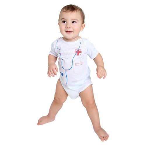 Fantasia Body Médico Bebê Verão