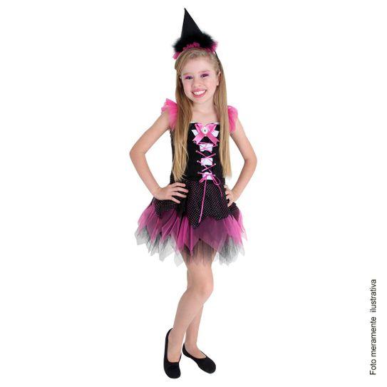 Fantasia Bruxa Charmosa Infantil P