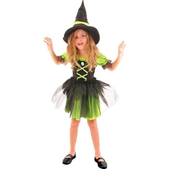 Fantasia Bruxa Divertida Infantil P