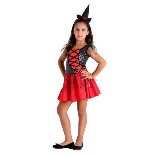 Fantasia Bruxa Elegante Infantil P