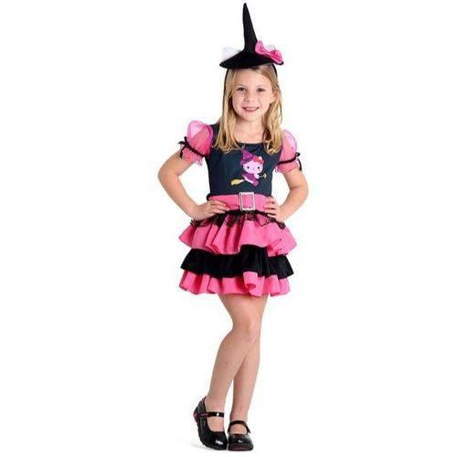 Fantasia Bruxa Hello Kitty
