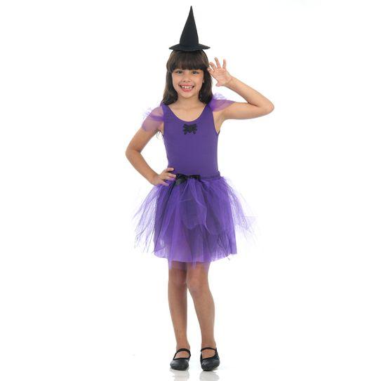 Fantasia Bruxa Infantil - Dress Up P