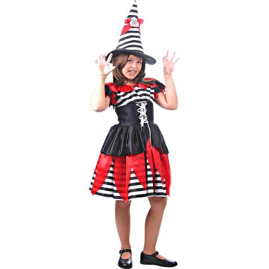 Fantasia Bruxa Pirata Infantil P
