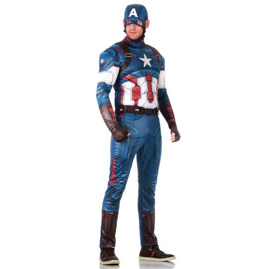 Fantasia Capitão América Adulto - Vingadores M