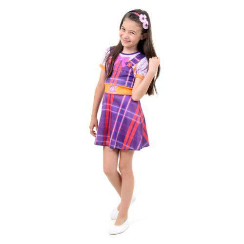 Fantasia Carinha de Anjo POP Infantil M 6 a 8 Anos