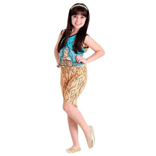 Fantasia Cleo de Nile Pop Monster High M - Sulamericana