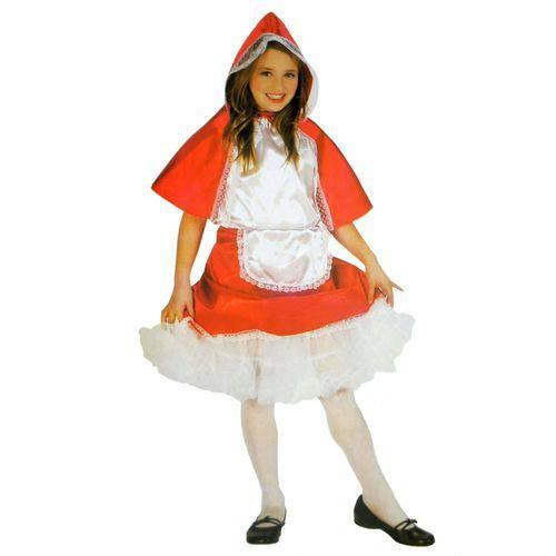Fantasia Cosplay Infantil Chapeuzinho Vermelho