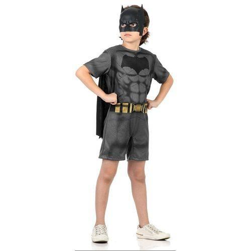 Fantasia Curta Batman Tamanho G Sulamericana 10892