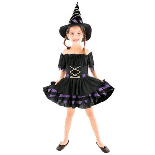 Fantasia de Halloween Bruxa Mágica M