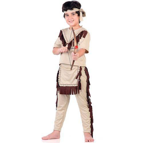 Fantasia de Índio Infantil Sulamericana - M 5 - 8