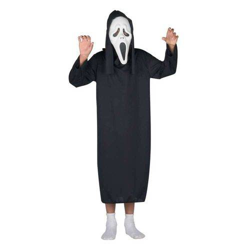 Fantasia de Panico Infantil Halloween com Máscara