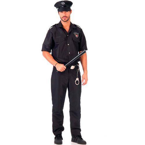 Fantasia de Policial Masculino Adulto Luxo