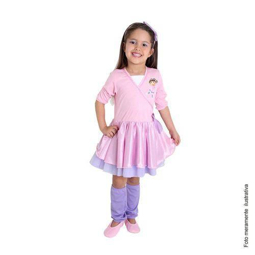 Fantasia Dora Aventureira Infantil Bailarina Completa com Sapatilha