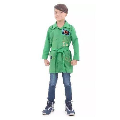 Fantasia Dpa Verde Infantil