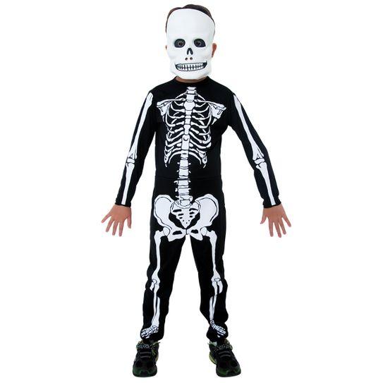 Fantasia Esqueleto Infantil P