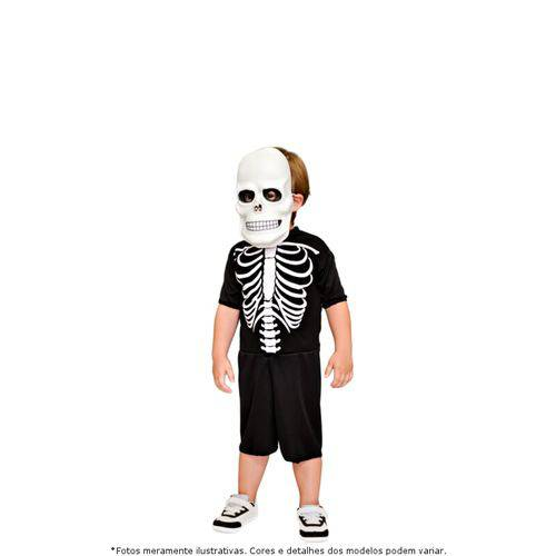 Fantasia Esqueleto Infantil