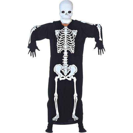 Fantasia Esqueleto Kafta Adulto P