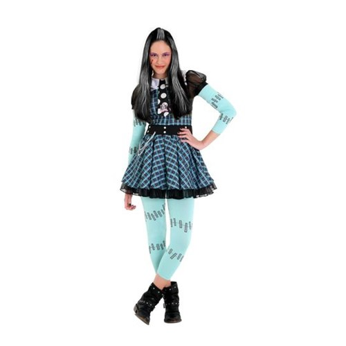 Fantasia Frankie Infantil Luxo - Monster High P