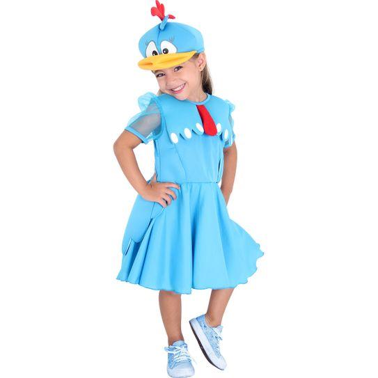 Fantasia Galinha Pintadinha Infantil – Vestido Luxo PP