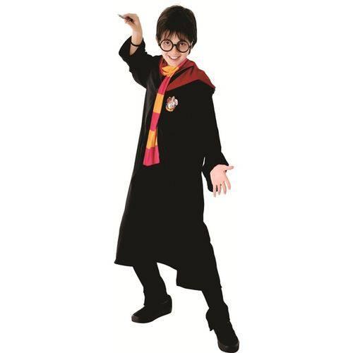 Fantasia Harry Potter Infantil Luxo Grifinória Sulamericana - G 9 - 12