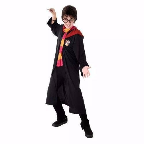 Fantasia Harry Potter Infantil Sobretudo Original Warner Bros Sulamericana 23396