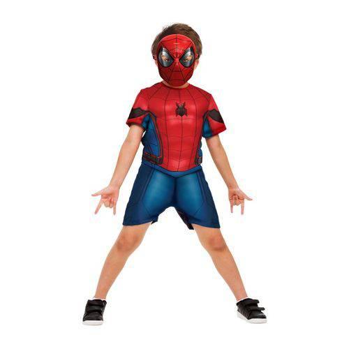 Fantasia Homem Aranha Curta P - Rubies