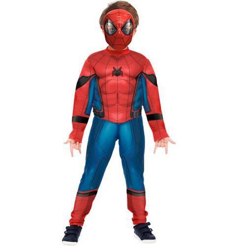 Fantasia Homem Aranha / Spiderman Infantil Luxo Filme de Volta ao Lar