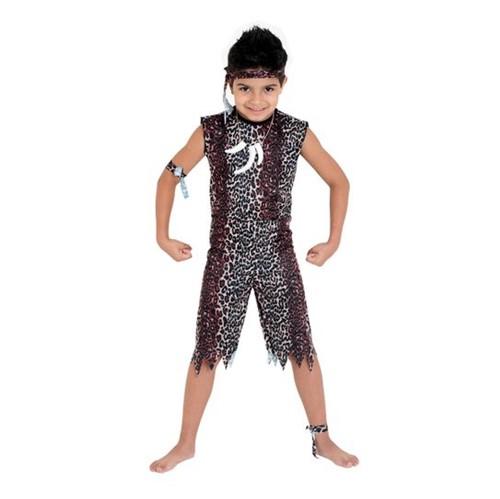 Fantasia Homem das Cavernas Infantil P