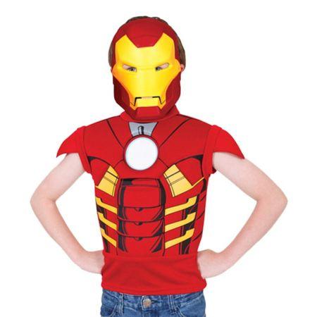 Fantasia Homem de Ferro Mascarade - Rubies U