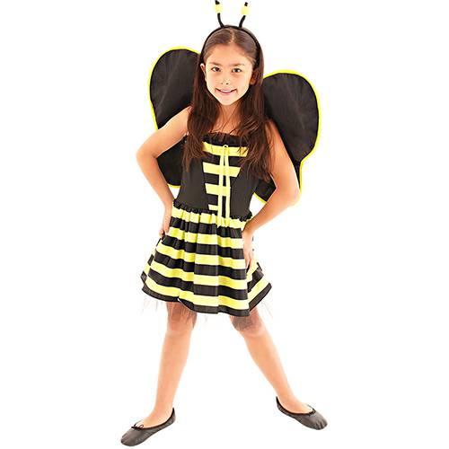 Fantasia Infantil Abelinha Vestido Luxo - Sulamericana