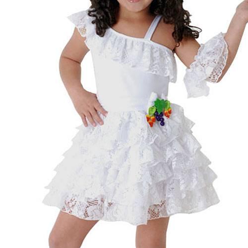 Fantasia Infantil Baianinha Luxo Tam. M - Sulamericana