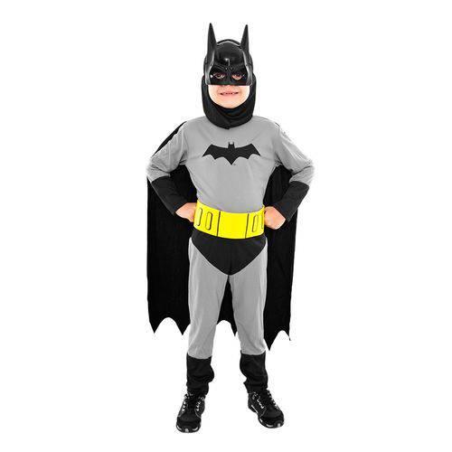 Fantasia Infantil Batman Standard G - Sulamericana