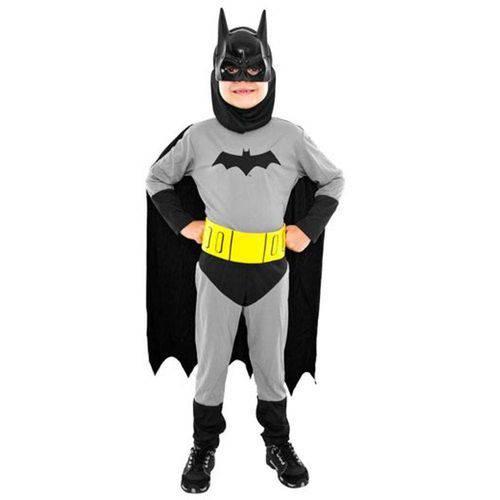 Fantasia Infantil Batman Standard M - Sulamericana