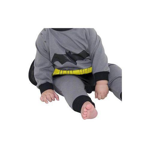 Fantasia Infantil Bebê - Macacão Batman - Sulamericana