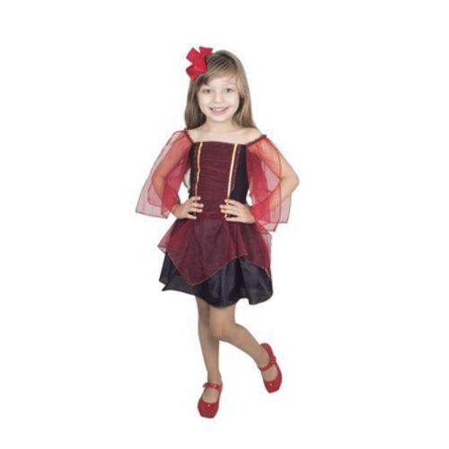 Fantasia Infantil Bruxa Charmosa Bm1877