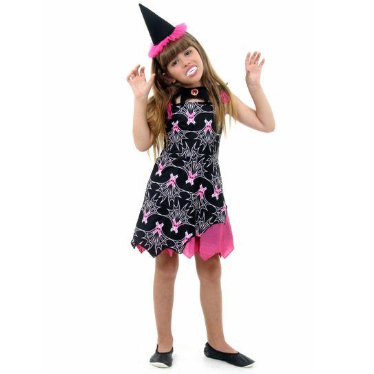 Fantasia Infantil Bruxa Vampira M