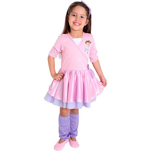 Fantasia Infantil Dora Bailarina - Sulamericana