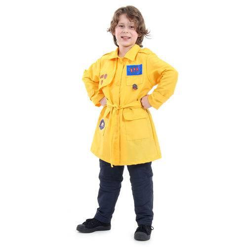 Fantasia Infantil - Dpa - Detetives do Prédio Azul - Amarelo - Sulamericana