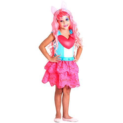 Fantasia Infantil Equestria Girls R. Rocks Pink Pie - Sulamericana