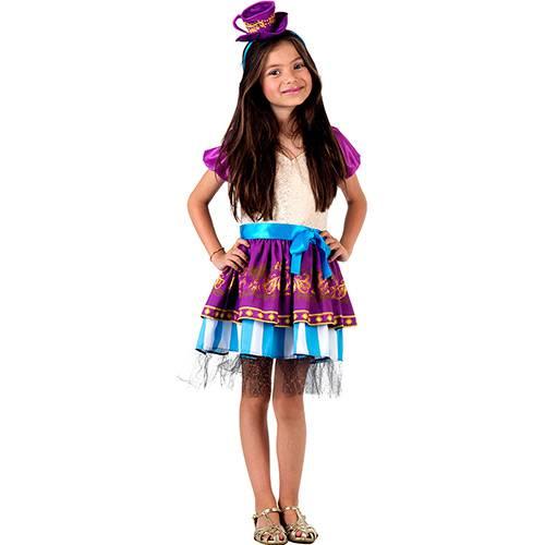 Fantasia Infantil Ever After High Madeline Hatter - Sulamericana Fantasias