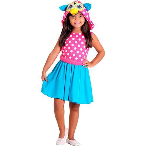 Fantasia Infantil Furby Bolinhas - Sulamericana