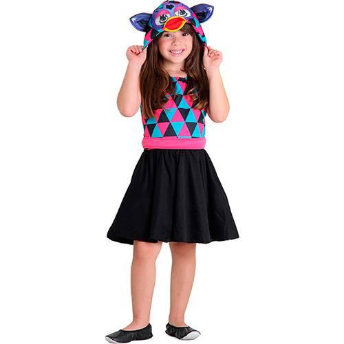 Fantasia Infantil Furby Estampado - Sulamericana
