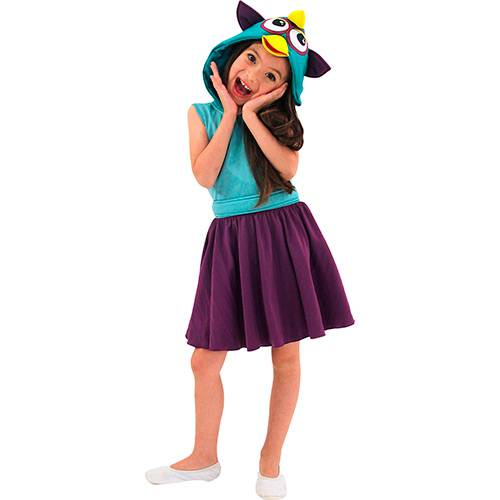 Fantasia Infantil Furby Verde e Roxo - Sulamericana