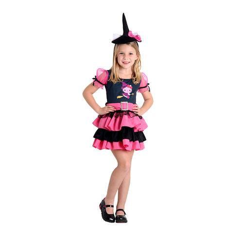 Fantasia Infantil Hello Kitty Bruxinha 35136 - Sulamericana