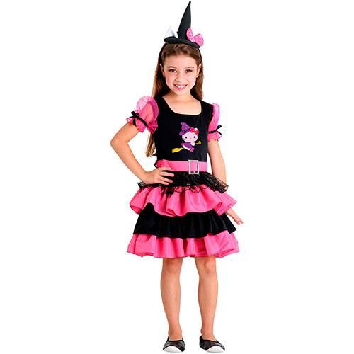 Fantasia Infantil Hello Kitty Bruxinha - Sulamericana