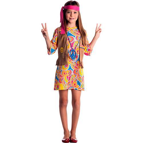 Fantasia Infantil Hippie Feminino Standart - Sulamericana Fantasias