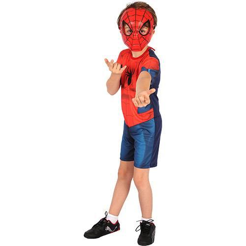 Fantasia Infantil Homem Aranha Ultimate Curta - Rubies