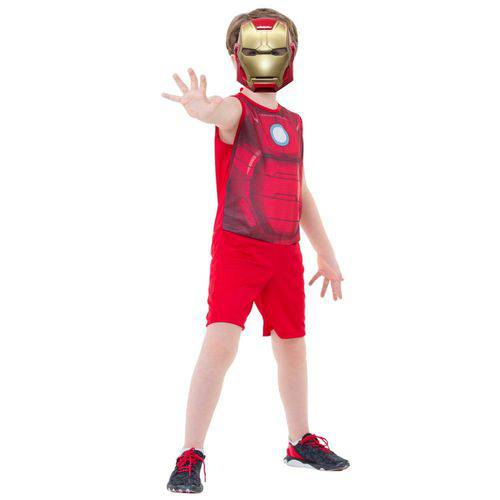 Fantasia Infantil Homem de Ferro Pop G - Rubies