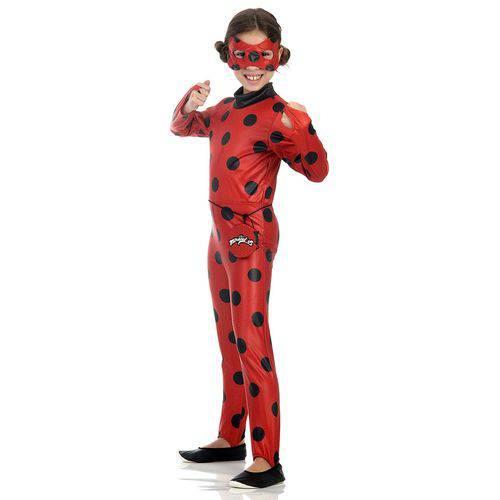 Fantasia Infantil Ladybug G - Sulamericana